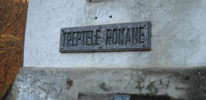 Treptele Romane, mina de aur