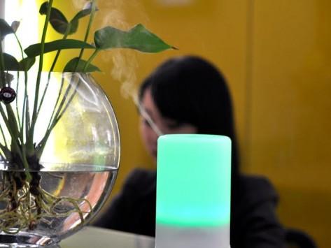 veioza LED aromaterapie, 8 culori, difuzor arome