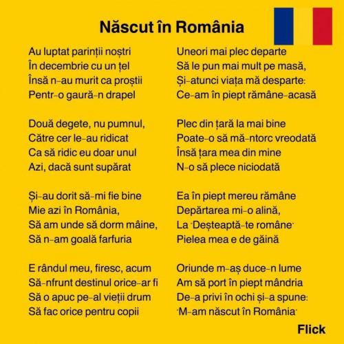 Duminicala romaneasca: Nascut roman