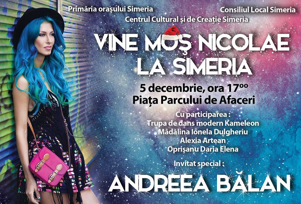 Andreea Balan la Simeria