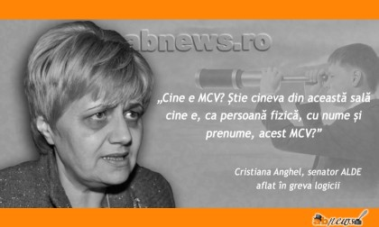 Cristiana Anghel, etalon de prostie