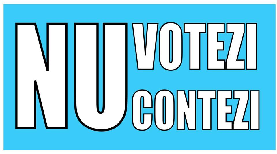 Nu votezi, nu contezi