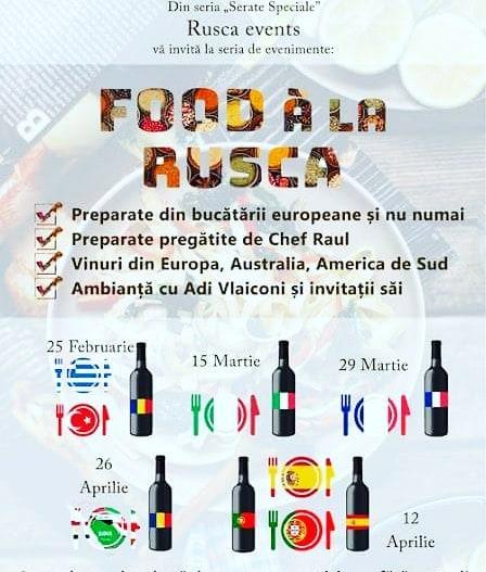 Food a la Rusca, 15 martie