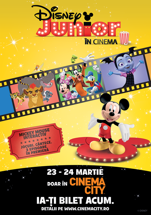 Disney Junior la Cinema City